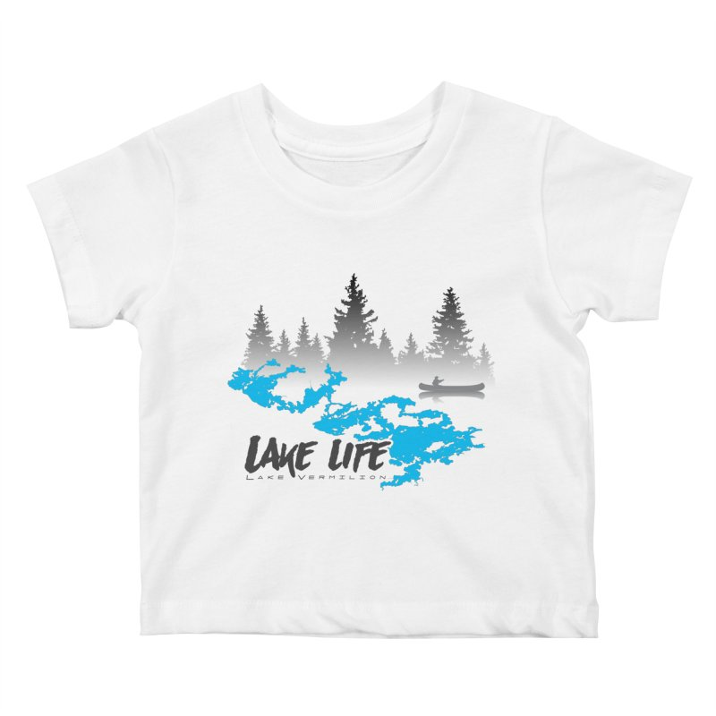 Lake Vermilion   Lake Life   Darker Lettering Kids Baby T-Shirt by Your Lake Apparel & Accessories