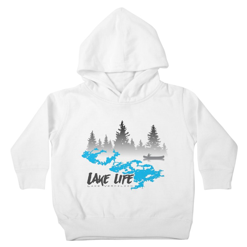 Lake Vermilion   Lake Life   Darker Lettering Kids Toddler Pullover Hoody by Your Lake Apparel & Accessories