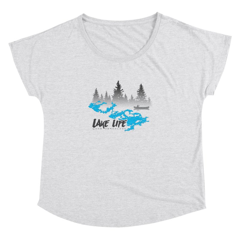 Lake Vermilion | Lake Life | Darker Lettering Women's Dolman Scoop Neck by Your Lake Apparel & Accessories