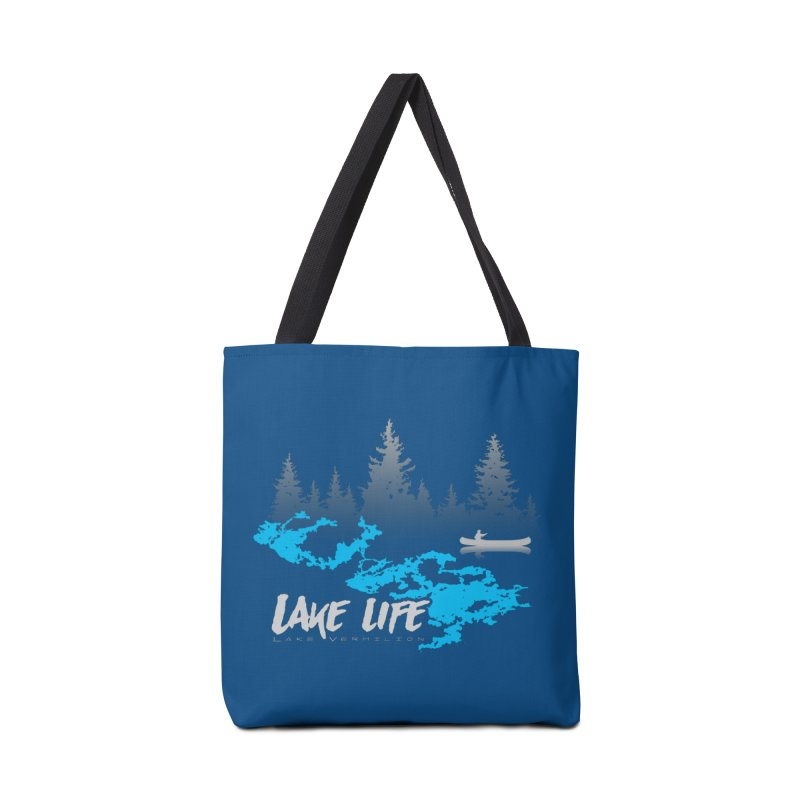 Lake Vermilion | Lake Life | Light Lettering Accessories Tote Bag Bag by Your Lake Apparel & Accessories