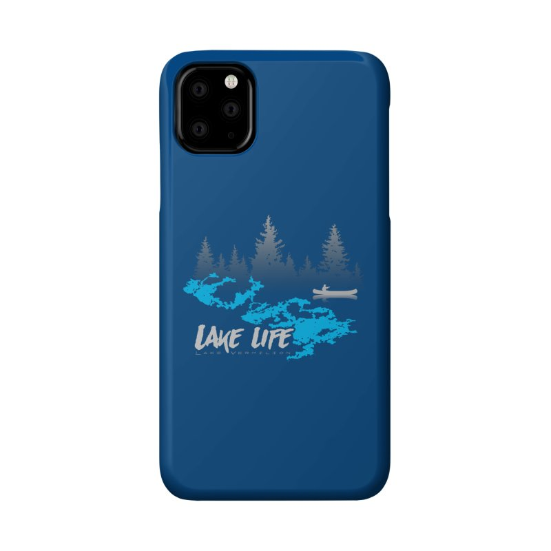 Lake Vermilion | Lake Life | Light Lettering Accessories Phone Case by Your Lake Apparel & Accessories