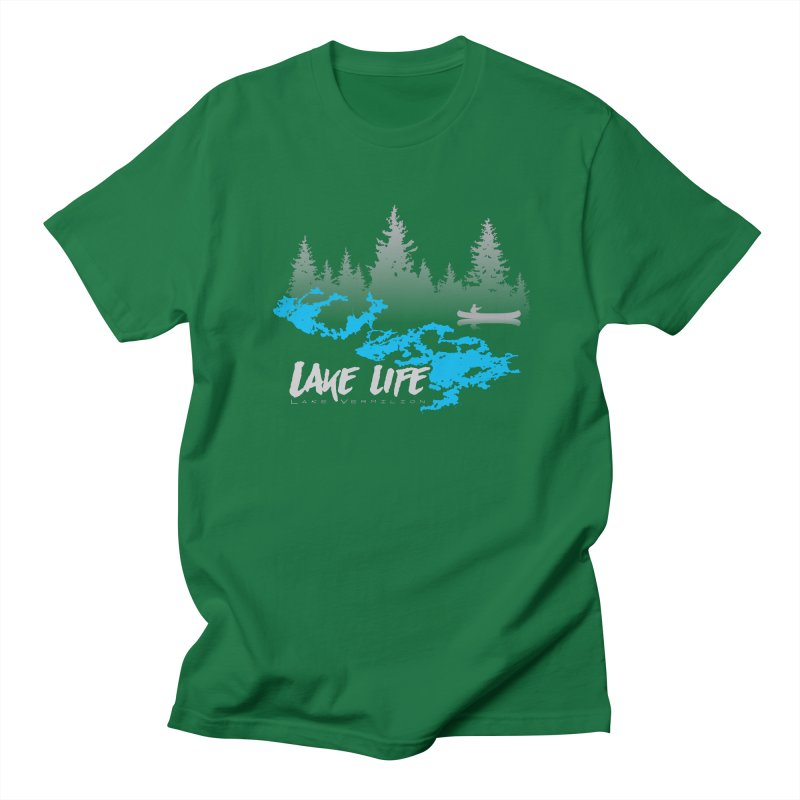 Lake Vermilion | Lake Life | Light Lettering Women's Regular Unisex T-Shirt by Your Lake Apparel & Accessories