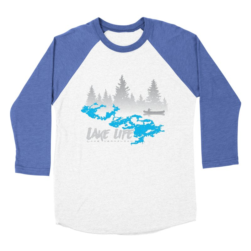 Lake Vermilion   Lake Life   Light Lettering Women's Baseball Triblend Longsleeve T-Shirt by Your Lake Apparel & Accessories
