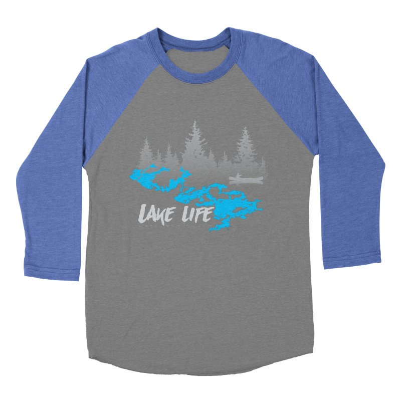 Lake Vermilion | Lake Life | Light Lettering Women's Baseball Triblend Longsleeve T-Shirt by Your Lake Apparel & Accessories