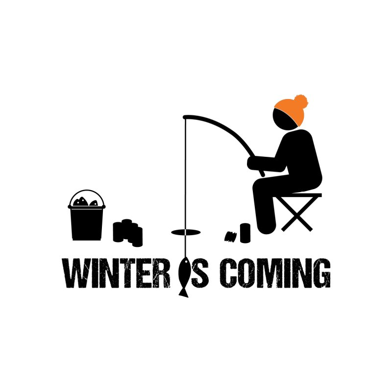 Winter is Coming | Dark Lettering by Your Lake Apparel & Accessories