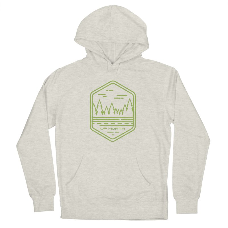 Up North Men's French Terry Pullover Hoody by Your Lake Apparel & Accessories