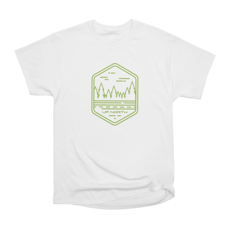 Up North Men's Heavyweight T-Shirt by Your Lake Apparel & Accessories