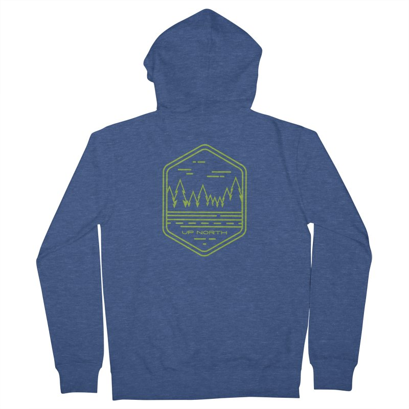 Up North Women's French Terry Zip-Up Hoody by Your Lake Apparel & Accessories