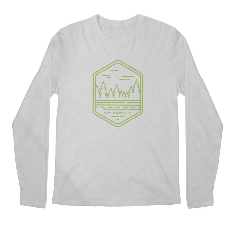 Up North Men's Regular Longsleeve T-Shirt by Your Lake Apparel & Accessories