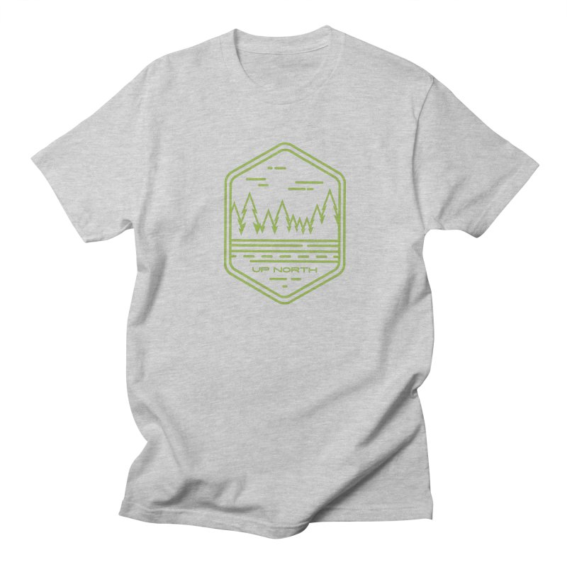 Up North Men's Regular T-Shirt by Your Lake Apparel & Accessories
