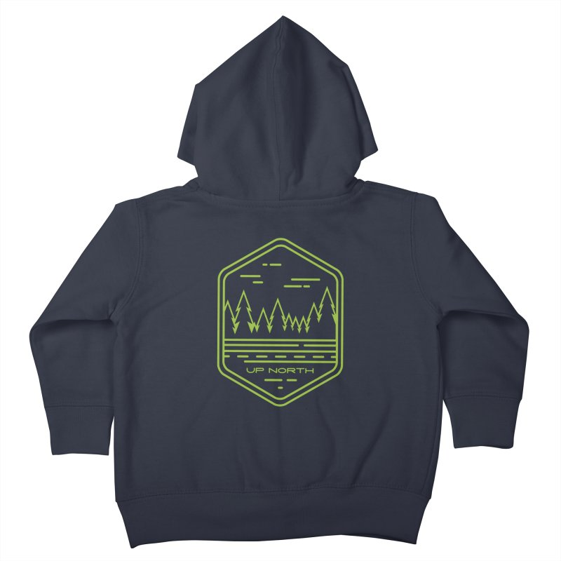 Up North Kids Toddler Zip-Up Hoody by Your Lake Apparel & Accessories