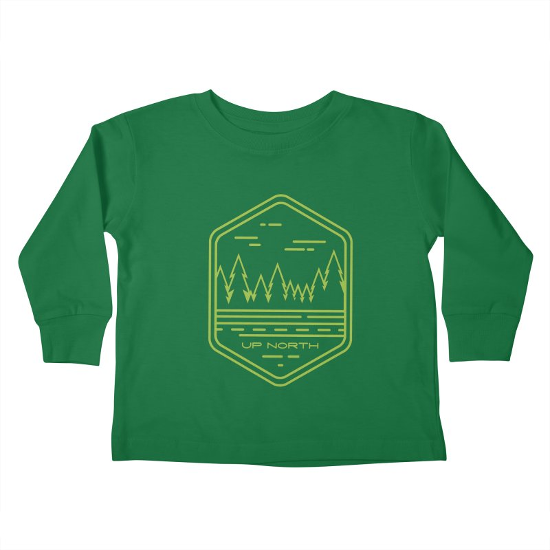 Up North Kids Toddler Longsleeve T-Shirt by Your Lake Apparel & Accessories