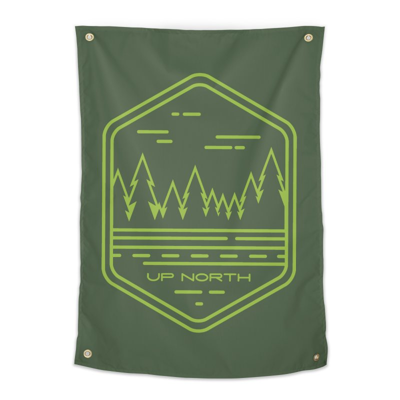 Up North Home Tapestry by Your Lake Apparel & Accessories