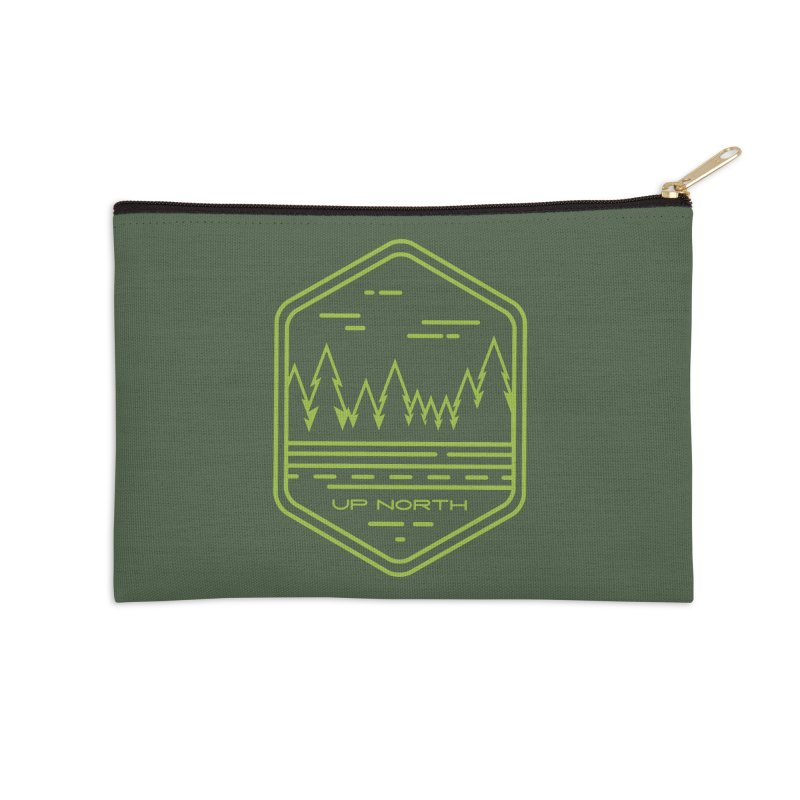 Up North Accessories Zip Pouch by Your Lake Apparel & Accessories