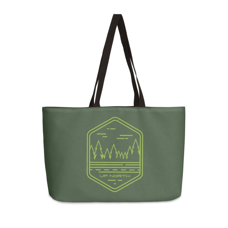 Up North Accessories Weekender Bag Bag by Your Lake Apparel & Accessories