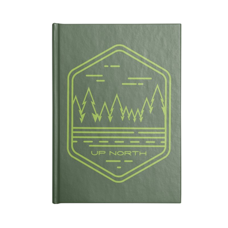 Up North Accessories Blank Journal Notebook by Your Lake Apparel & Accessories