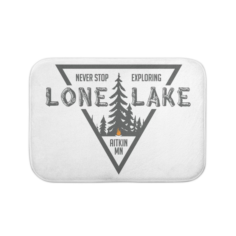 Lone Lake Home Bath Mat by Your Lake Apparel & Accessories