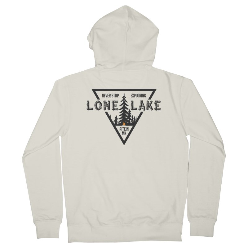 Lone Lake Women's French Terry Zip-Up Hoody by Your Lake Apparel & Accessories