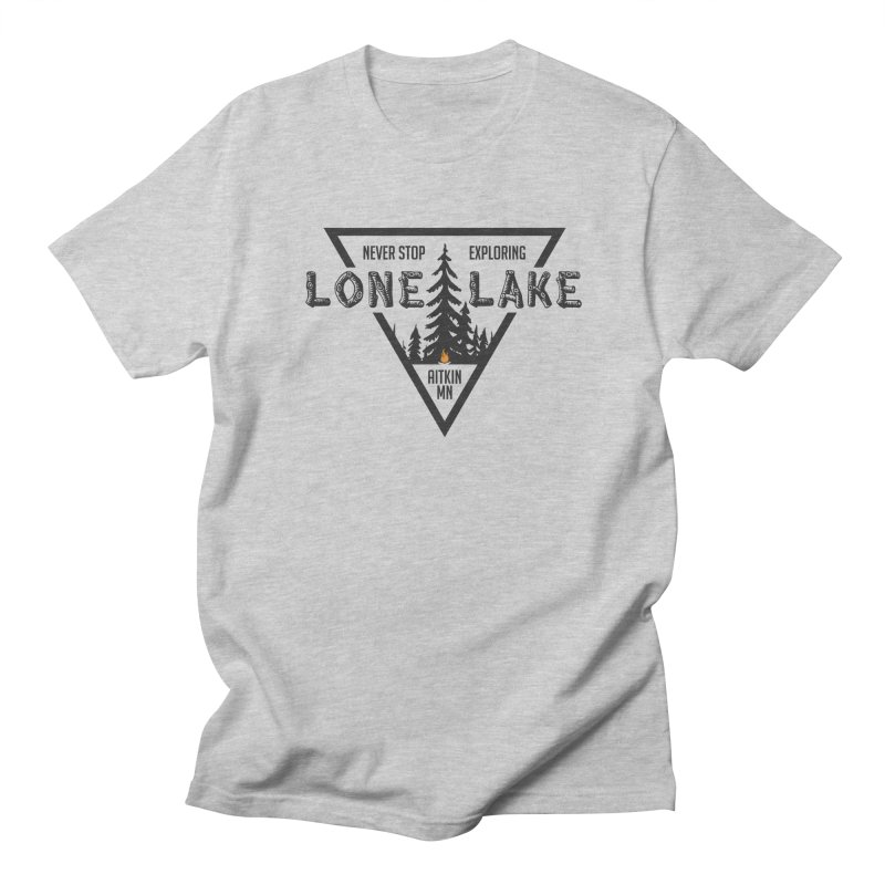 Lone Lake Women's Regular Unisex T-Shirt by Your Lake Apparel & Accessories