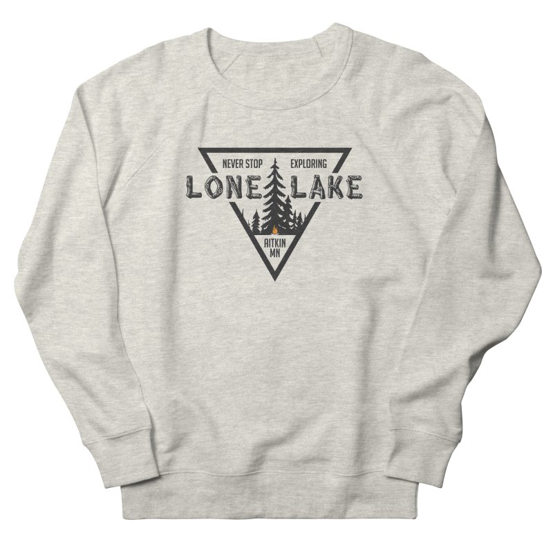 Lone Lake Men's French Terry Sweatshirt by Your Lake Apparel & Accessories