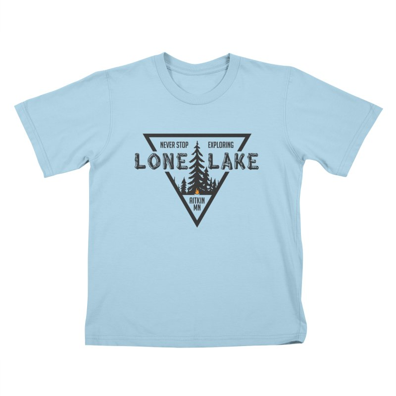 Lone Lake Kids T-Shirt by Your Lake Apparel & Accessories