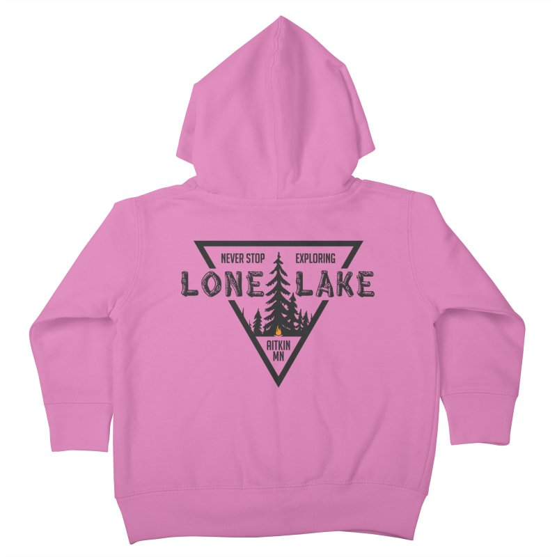 Lone Lake Kids Toddler Zip-Up Hoody by Your Lake Apparel & Accessories