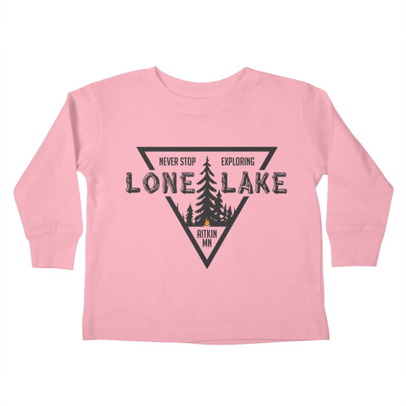 Lone Lake Kids Toddler Longsleeve T-Shirt by Your Lake Apparel & Accessories