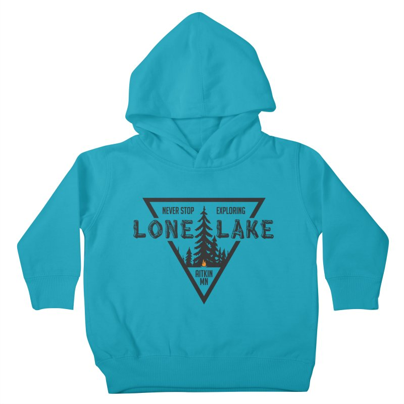 Lone Lake Kids Toddler Pullover Hoody by Your Lake Apparel & Accessories