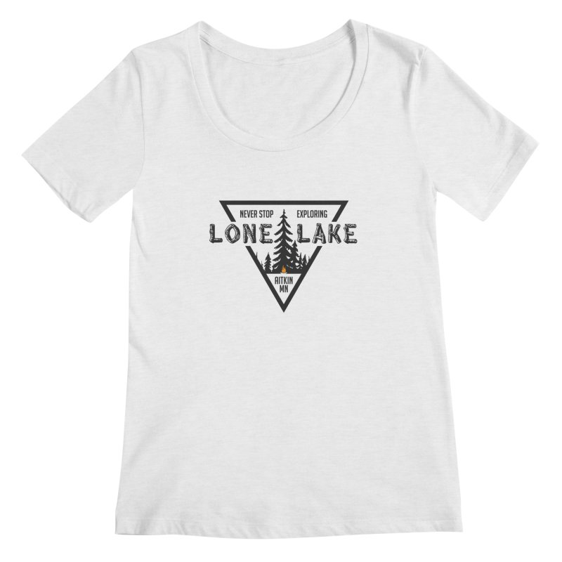Lone Lake Women's Scoop Neck by Your Lake Apparel & Accessories