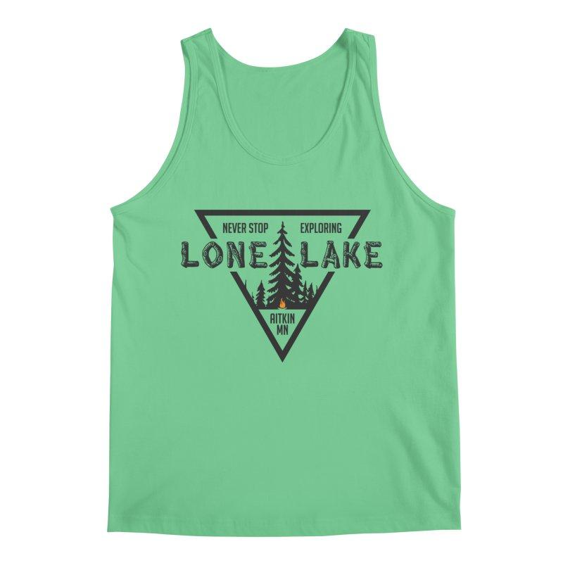 Lone Lake Men's Regular Tank by Your Lake Apparel & Accessories