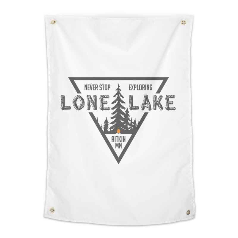 Lone Lake Home Tapestry by Your Lake Apparel & Accessories