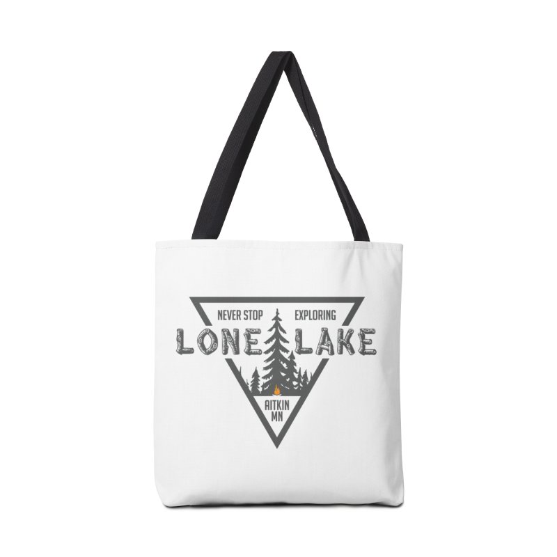 Lone Lake Accessories Tote Bag Bag by Your Lake Apparel & Accessories