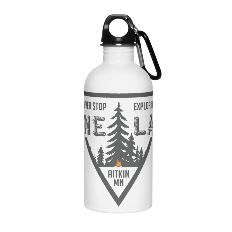 Lone Lake Accessories Water Bottle by Your Lake Apparel & Accessories