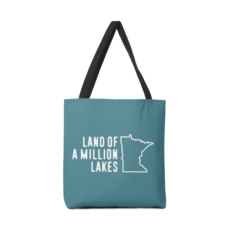 Minnesota Land of a Million Lakes Accessories Tote Bag Bag by Your Lake Apparel & Accessories