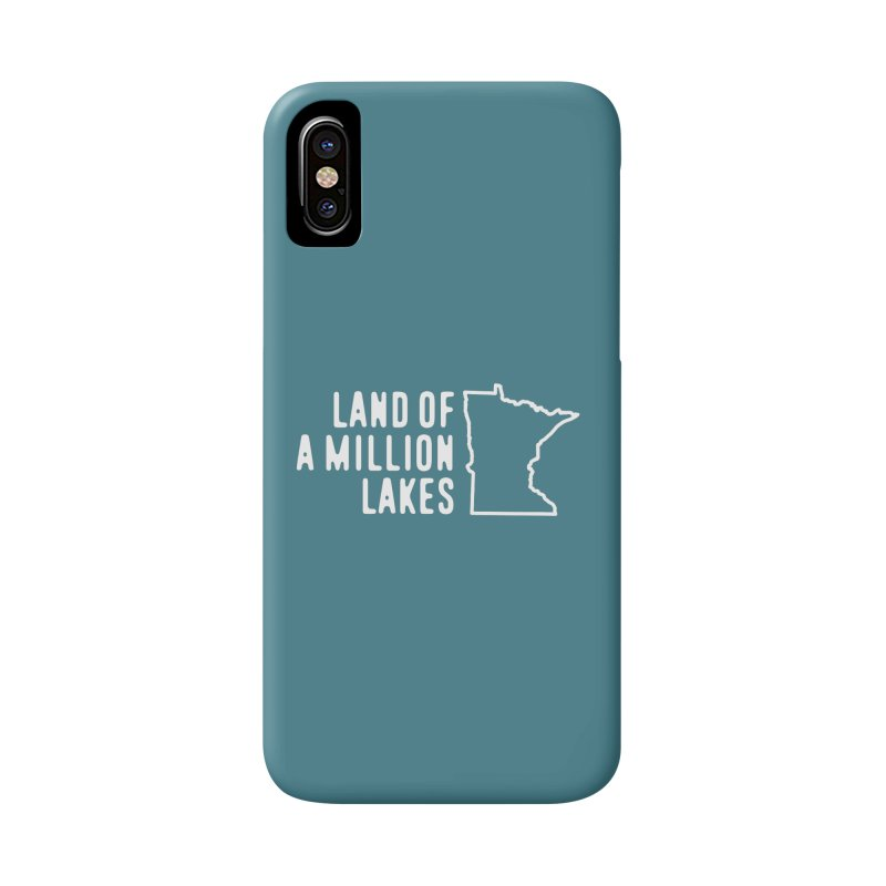 Minnesota Land of a Million Lakes Accessories Phone Case by Your Lake Apparel & Accessories
