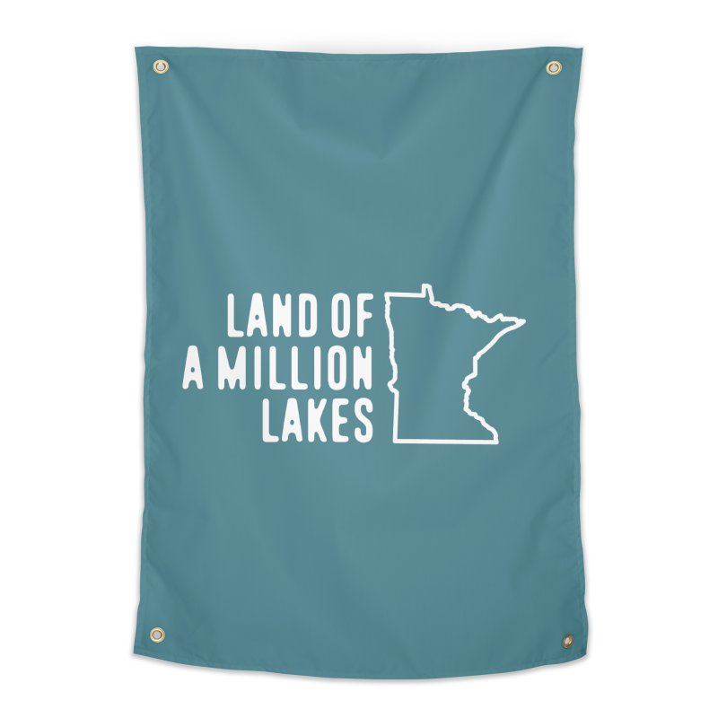 Minnesota Land of a Million Lakes Home Tapestry by Your Lake Apparel & Accessories