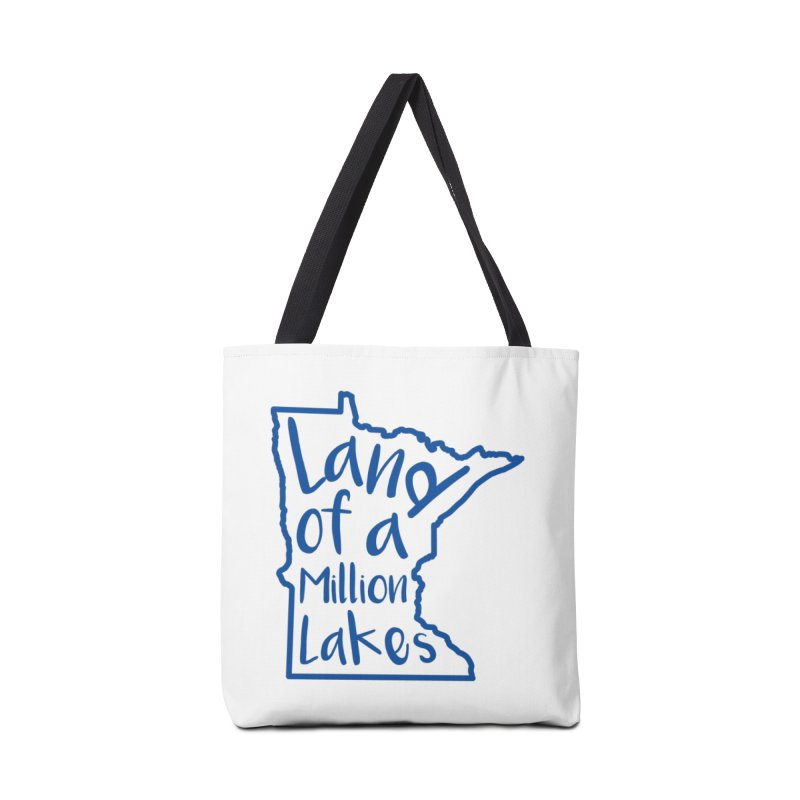 Minnesota Land of a Million Lakes 02 Accessories Tote Bag Bag by Your Lake Apparel & Accessories