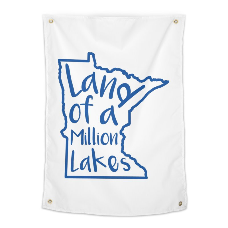 Minnesota Land of a Million Lakes 02 Home Tapestry by Your Lake Apparel & Accessories