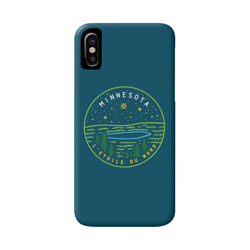 Minnesota - The North Star Accessories Phone Case by Your Lake Apparel & Accessories