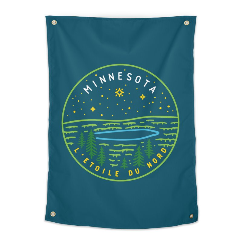 Minnesota - The North Star Home Tapestry by Your Lake Apparel & Accessories