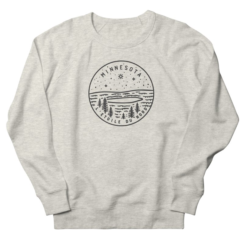 Minnesota - The North Star Men's French Terry Sweatshirt by Your Lake Apparel & Accessories