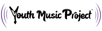 Youth Music Project Merch Table Logo