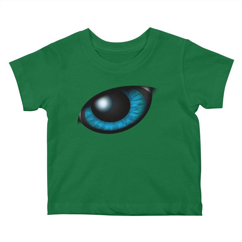Yowie Eye Apparel Kids Baby T-Shirt by Yowie Podcast Shop