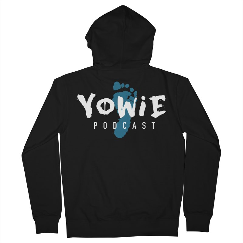 Yowie Podcast Apparel Men's Zip-Up Hoody by Yowie Podcast Shop