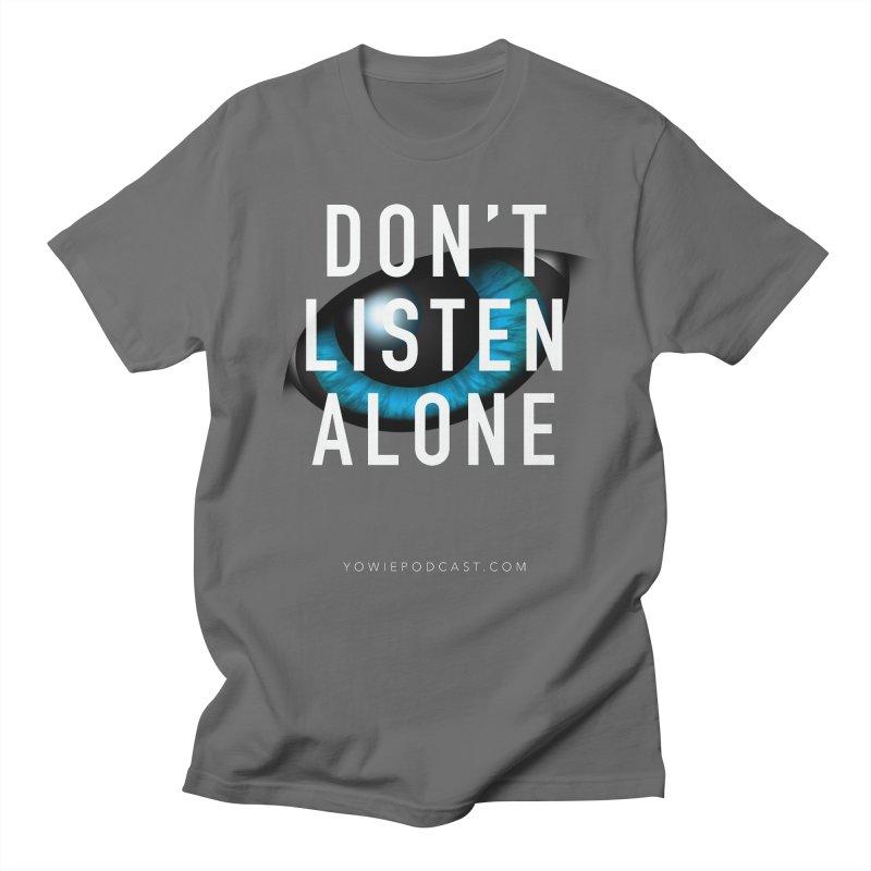 DLA Eye Apparel Men's T-Shirt by Yowie Podcast Shop