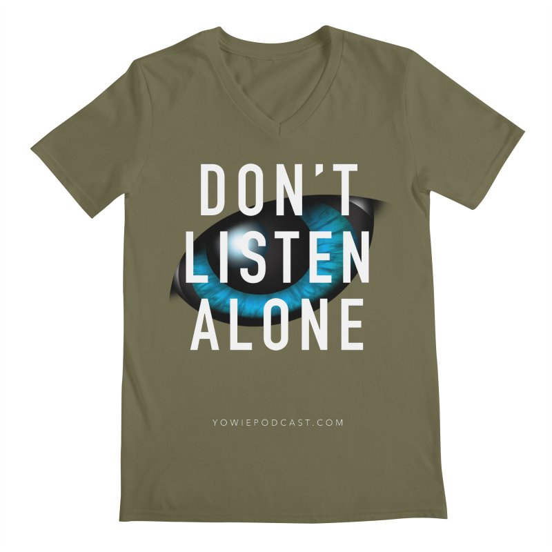 DLA Eye Apparel Men's V-Neck by Yowie Podcast Shop
