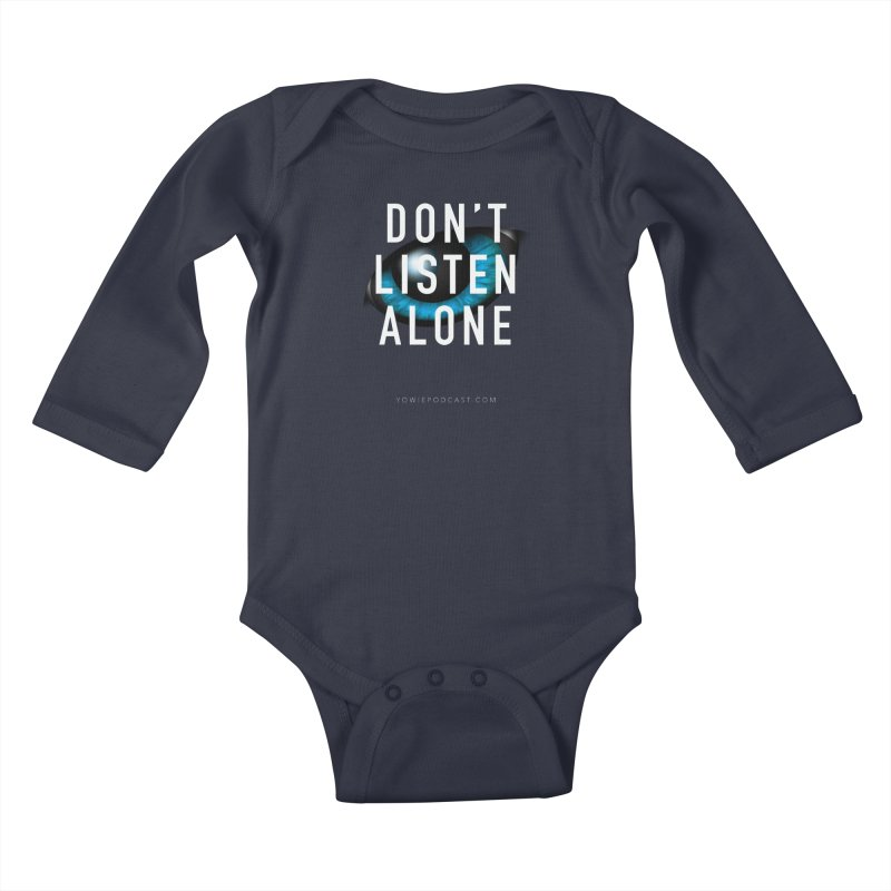 DLA Eye Apparel Kids Baby Longsleeve Bodysuit by Yowie Podcast Shop