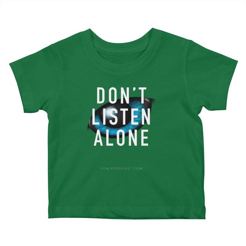 DLA Eye Apparel Kids Baby T-Shirt by Yowie Podcast Shop