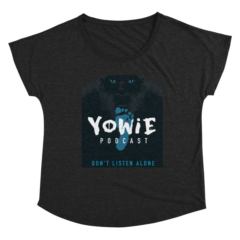 Yowie Podcast Apparel V3 Women's Scoop Neck by Yowie Podcast Shop