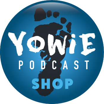 Yowie Podcast Shop Logo